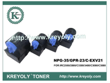 Compatible Color Toner Cartridge GPR-23/NPG 35/C-EXV 21