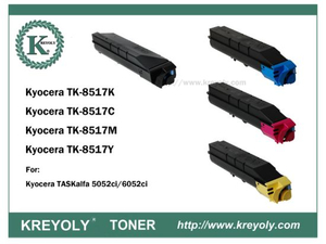TK-8515/8516/8517/8518/8519 COLOR TONER CARTRIDGE FOR KYOCERA TASKALFA 5052CI 6052CI