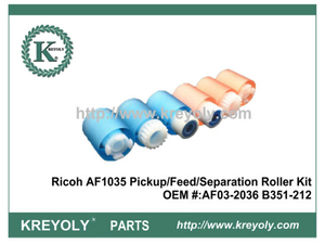 High Quality Pickup / Feed / Separation Roller Kit for Ricoh AF1035 1045 2035 2045 3035 3045