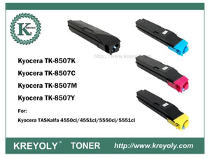 TK-8505/8506/8507/8509 COLOR TONER CARTRIDGE FOR KYOCERA Taskalfa 4550ci 5550ci 4551ci 5551ci