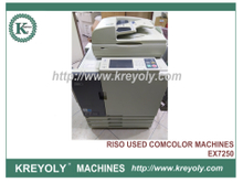 Used Riso ComColor 7150/7110 ORPHIS EX7250/7200 Inkjet Printer High-Speed Production