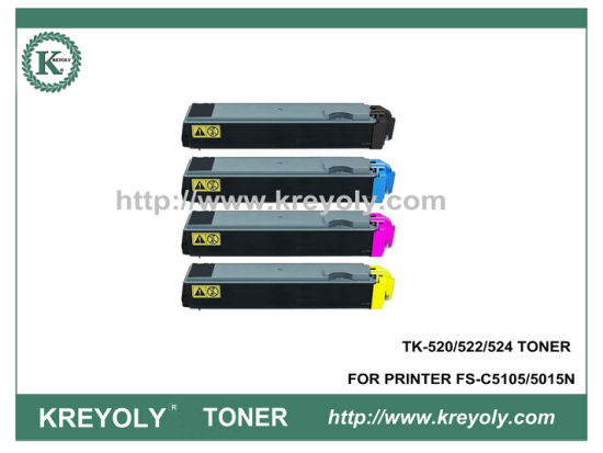 TK-520/522/524 COLOR TONER CARTRIDGE FOR KYOCERA PRINTER FS-C5015N
