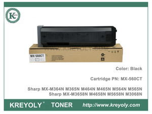 Sharp MX560FT CT Toner Cartridge for MX-M364N M365N M464N M465N M564N M565N