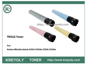TN512 Toner Cartridge FOR Konica Minolta Bizhub C454 C554