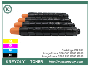 New Canon T01 Toner Cartridge For imagePress C60 C65 C650 C600 C750 C700 C800 C850 C910