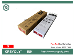 Color File Red S-7313 Ink Cartridge for Riso ComColor GD7330 GD9630 Fine Red