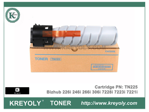 Konica Minolta TN225 TN226 Toner Cartridge for Bizhub 226i 266i 306i 7228i 7223i 7221i