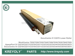Pressure Roller Xerox DocuCentre IV C2270 C3370 C3371 C3375 C4470 C5570 C5575 Lower Roller WorkCentre 7525 7530 7535 7545