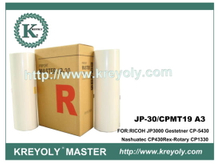 Digital Master for Ricoh JP-30 CPMT19 A3