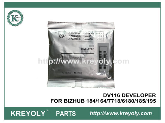 DV116 DEVELOPER FOR BIZHUB 184/164/7718/6180/185/195
