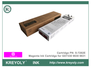 S-7282 Magenta Ink Cartridge for Riso ComColor GD9630 GD9631 GD7330 InkJet Machine