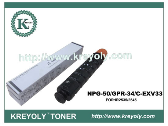 Compatible Toner Cartridge for Canon GPR-34/NPG 50/C-EXV 33