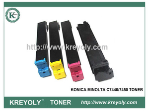 Konica Minolta MagiColor C7440/7450 Color Toner Cartridge
