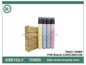 TN223 TONER FOR Bizhub C226/C266/C256