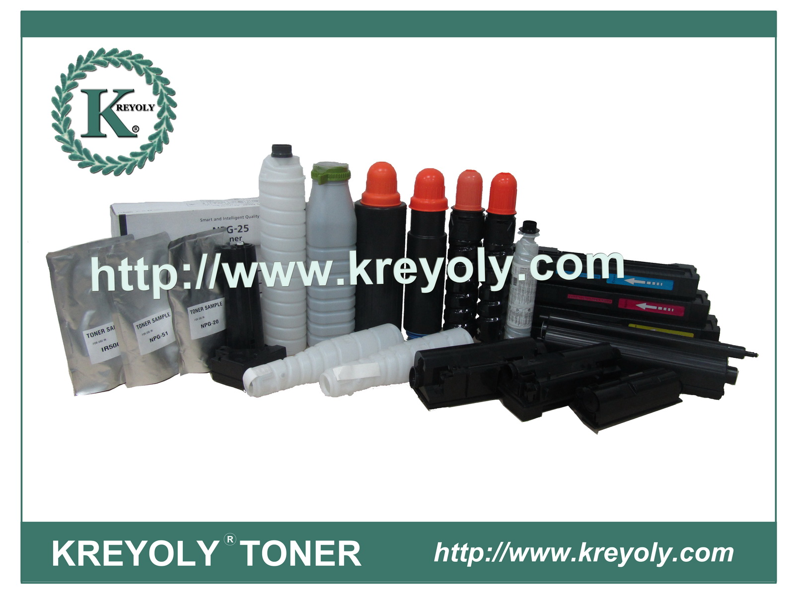 Hot Sales Compatible Color Toner for Sharp MX-27CT