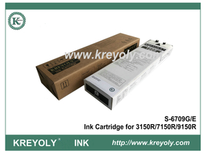 S-6709 Black Ink Cartridge for Riso ComColor 3150R 7150R 9150R InkJet Machine