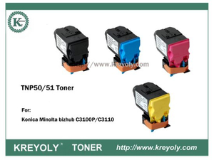 TNP50/51 TONER CARTRIDGE FOR Bizhub C3100P C3110