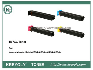 TN711 TONER CARTRIDGE FOR KONICA MINOLTA Bizhub C654/C754