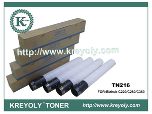 Konica Minolta TN-216 Toner Cartridge for Bizhub C220 C280 C360