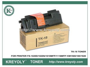 TK-18 Toner Cartridge for Kyocera Mita PRINTER FS-1020D FS1020N FS1018MFP FS1118MFP
