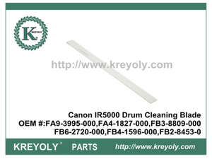 Cost-Saving Compatible Drum Cleaning Blade For Canon IR5000 FA9-3995-000