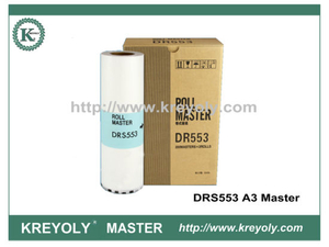 Master Roll for Duplo-S 550 of DRS 553 A3