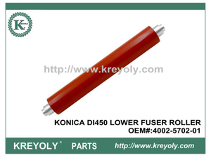 High Quality Konica DI450 550 Lower Sleeved Pressure Roller 4002570201