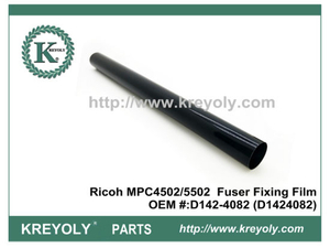 D142-4082 Fuser Belt for Ricoh Aficio MPC3502 MPC4502 MPC5502 fuser film sleeve
