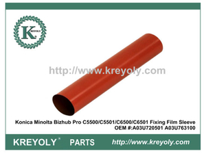 High Quality Japanese Fuser Sleeve Film for Konica Minolta Bizhub PRO C5500 C5501 C6500 C6501