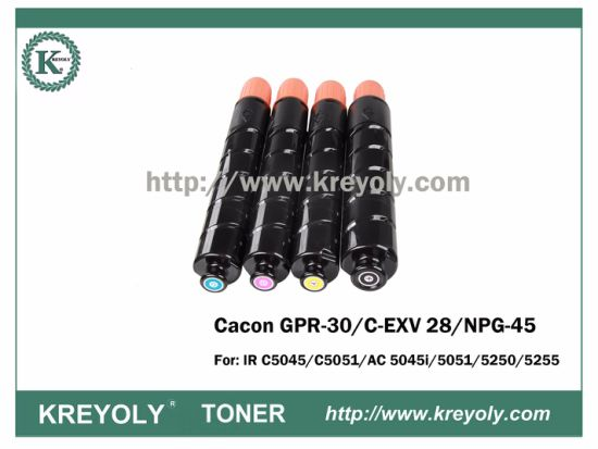 Compatible Color Toner Cartridge GPR-30/NPG-45/C-EXV 28