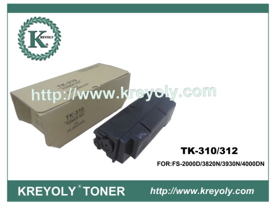 TK-310/312/313/314 TONER CARTRIDGE FOR KYOCERA PRINTER FS-2000D FS3820N FS3930N FS4000DN