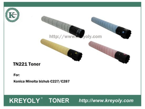 TN221 TONER CARTRIDGE FOR KONICA MINOLTA Bizhub C227 C287