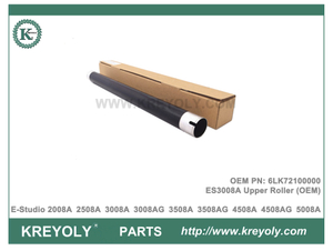 OEM 6LK72100000 Upper Roller For Toshiba E-Studio 2008A 2508A 3008A 3508A 4508A 5008A 3008AG 3508AG Upper Fuser Roller
