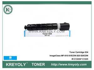 CRG-034 Toner Cartridge for Canon ImageClass MF810CDN MF820CDN IRC1225iF IRC1225 Printer 034